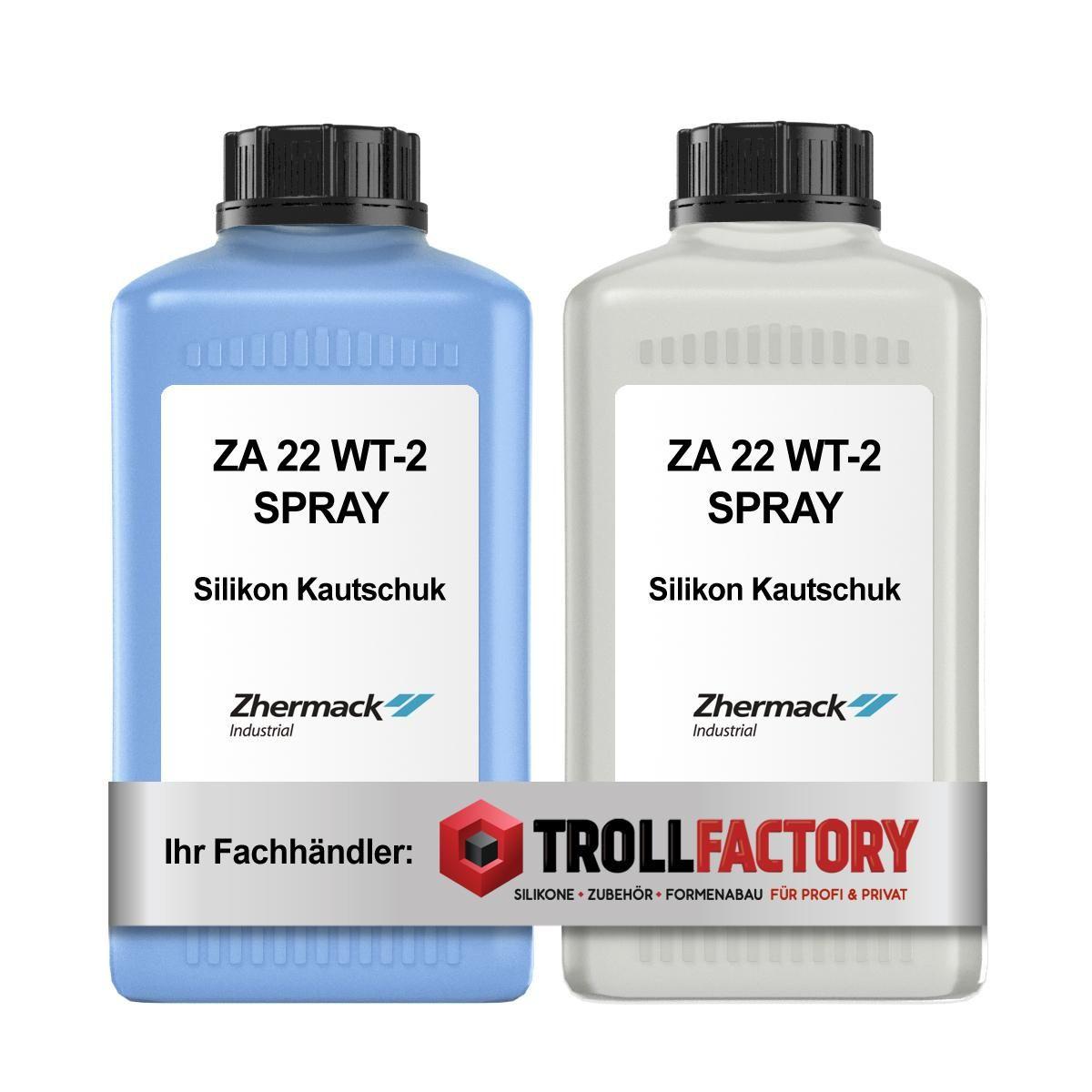 Zhermack Silikon Kautschuk ZA 22 WT-2 Spray 1+1kg