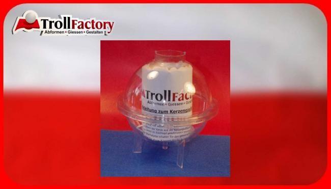 Kerzengießform Kugelkerze, 120mm