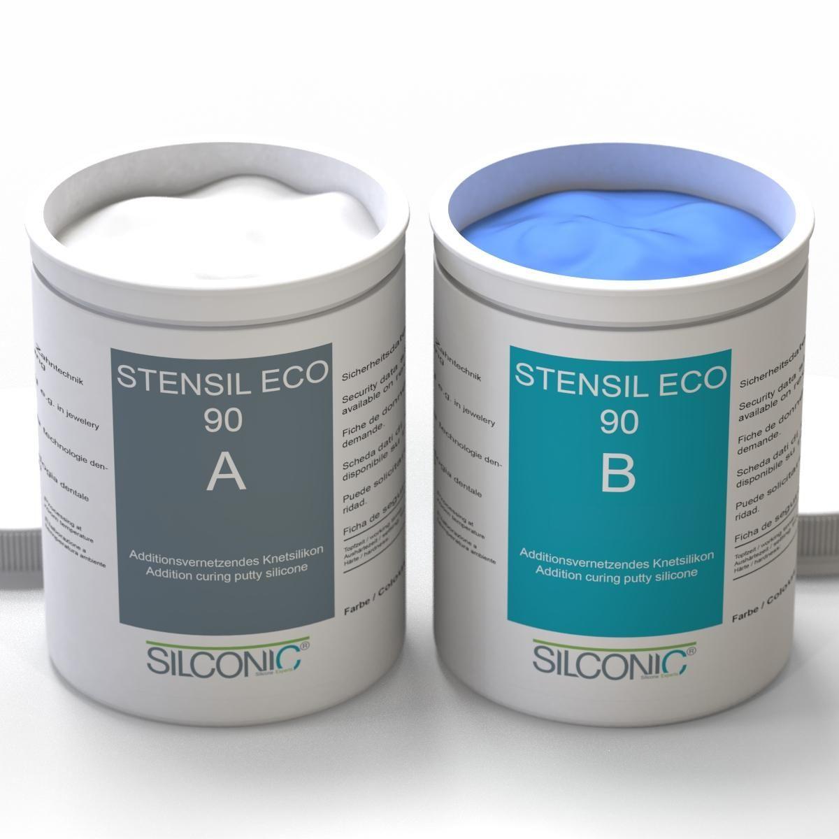 STENSIL ECO 90 Blau SET