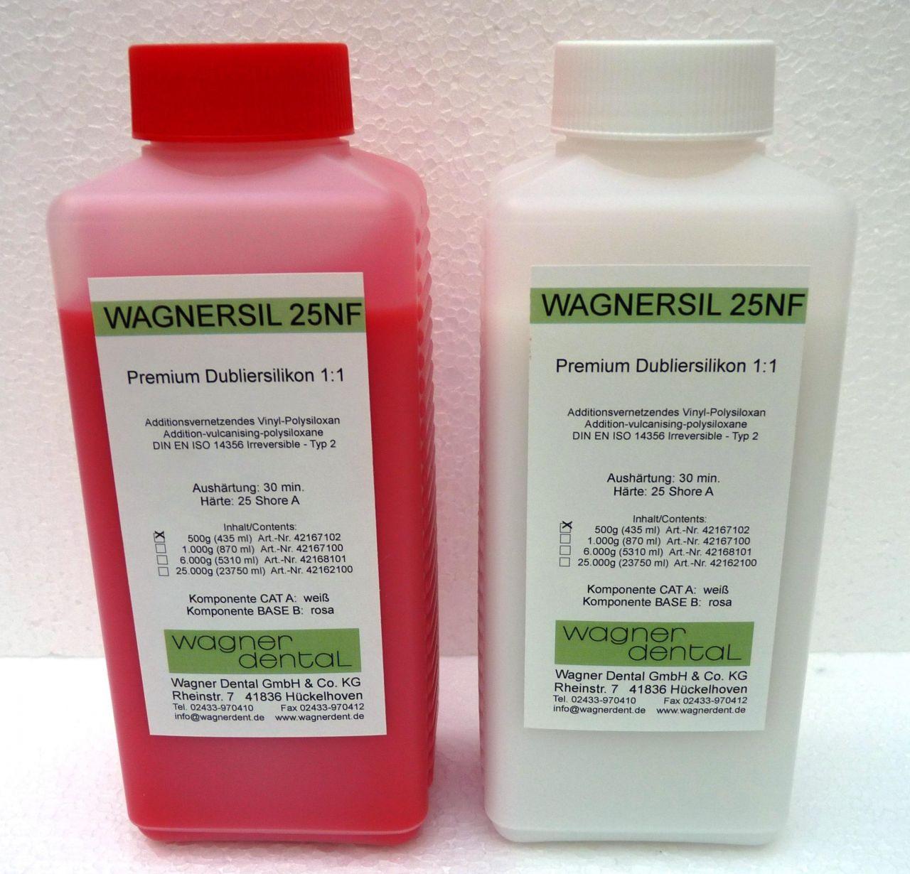 Wagnersil Premium 25 NF rosa Shore 25 EFZ 30 min 1:1