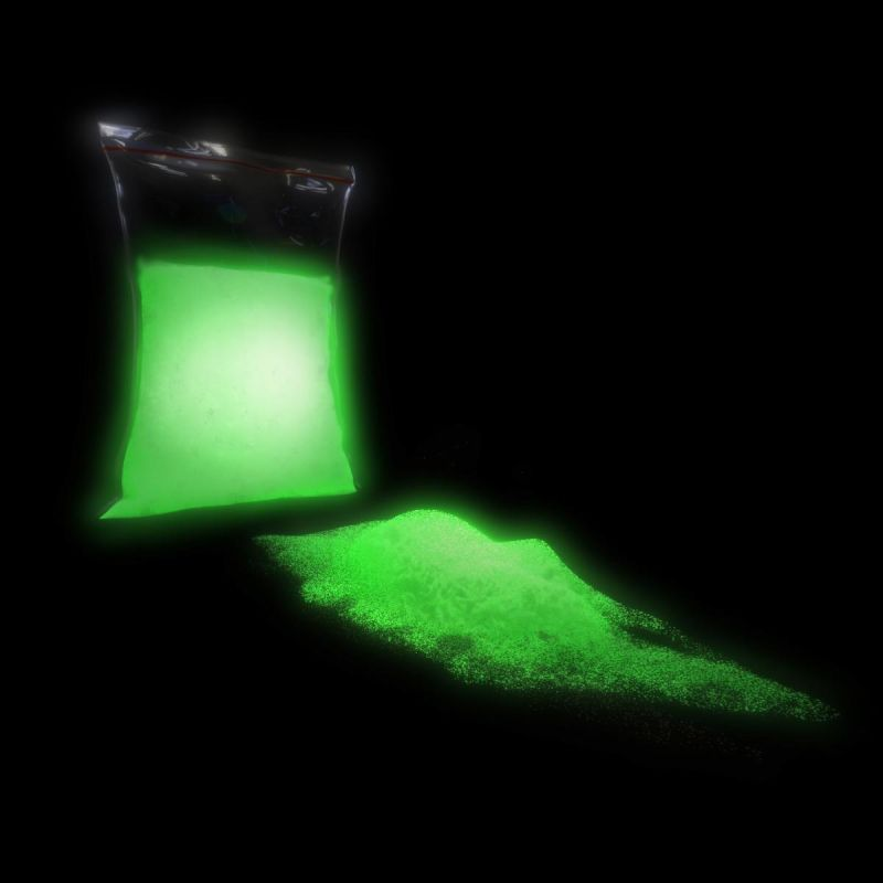 TFC Nachleuchtpigment Leuchtpulver Farbe in der Nacht grün