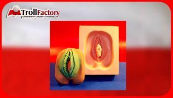 Giessform Silikonform Vulva Vagina Vera groß