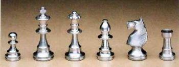 Zinngießform Schachfigurenset Staunton