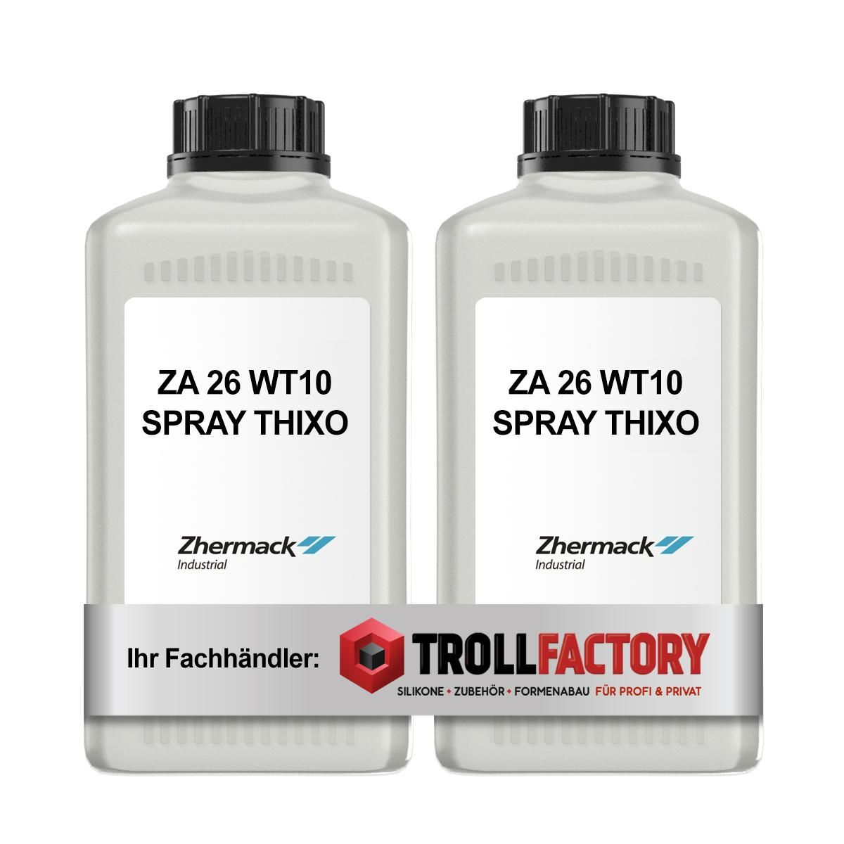 Zhermack Silikon Kautschuk ZA 26 WT10 SPRAY THIXO 3+3 kg