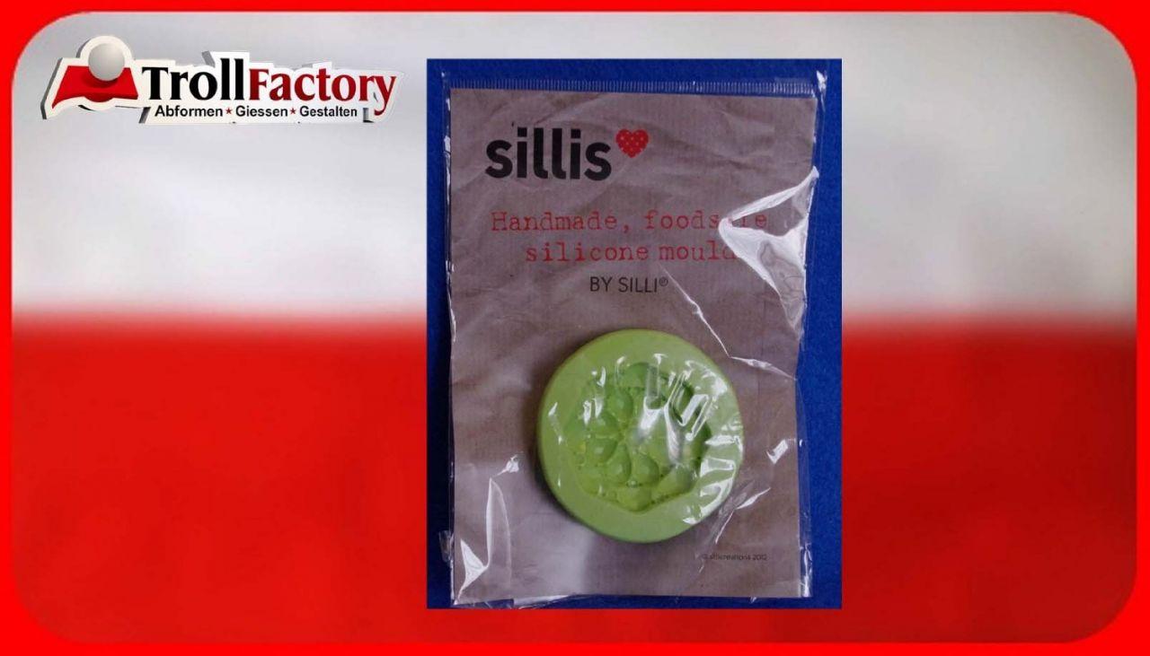 SILLI Silikonform Lebensmittel Perlen, ca, 4x 4,5cm
