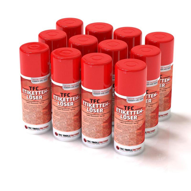TFC Etikettenlöser Etikettenentferner Kleberlöser Label Remover Spray