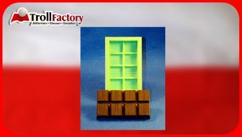 Giessform Silikonform Tafel Schokolade 8er high block SM6049