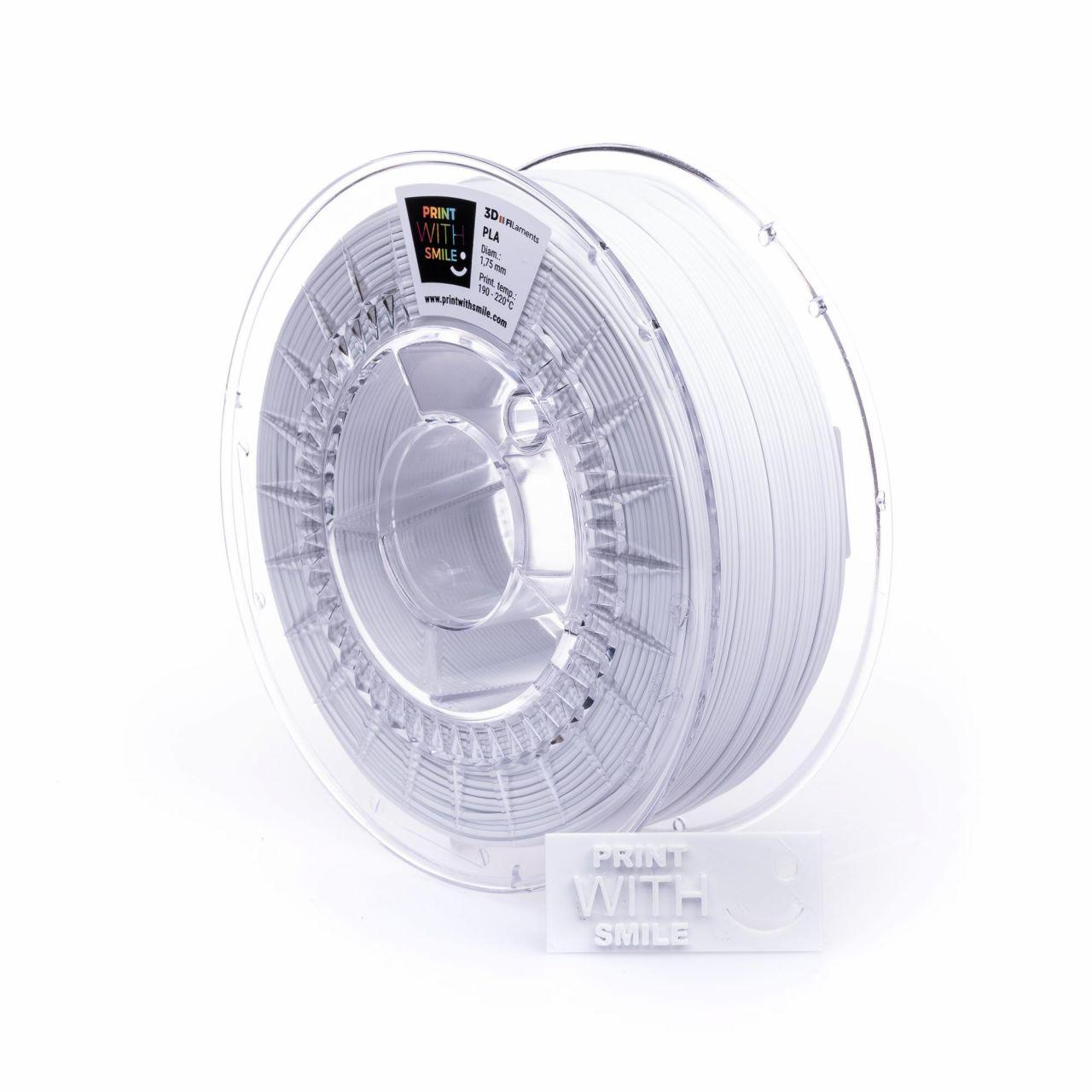 PWS 3D Drucker 3D Stift Pen PLA Filament 1,75 mm, Gewicht 2,5 kg - Farbe: White