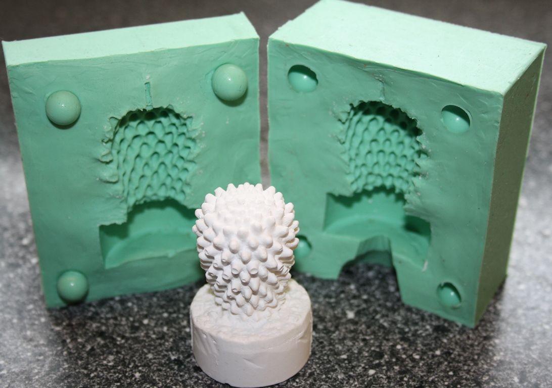 Kerzenform Giessform Teelicht Kaktus Motiv 1