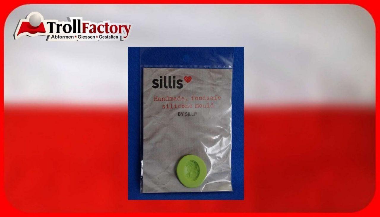 SILLI Silikonform Lebensmittel Miniaturen Frauenbueste,ca. 2,5x 1,9cm