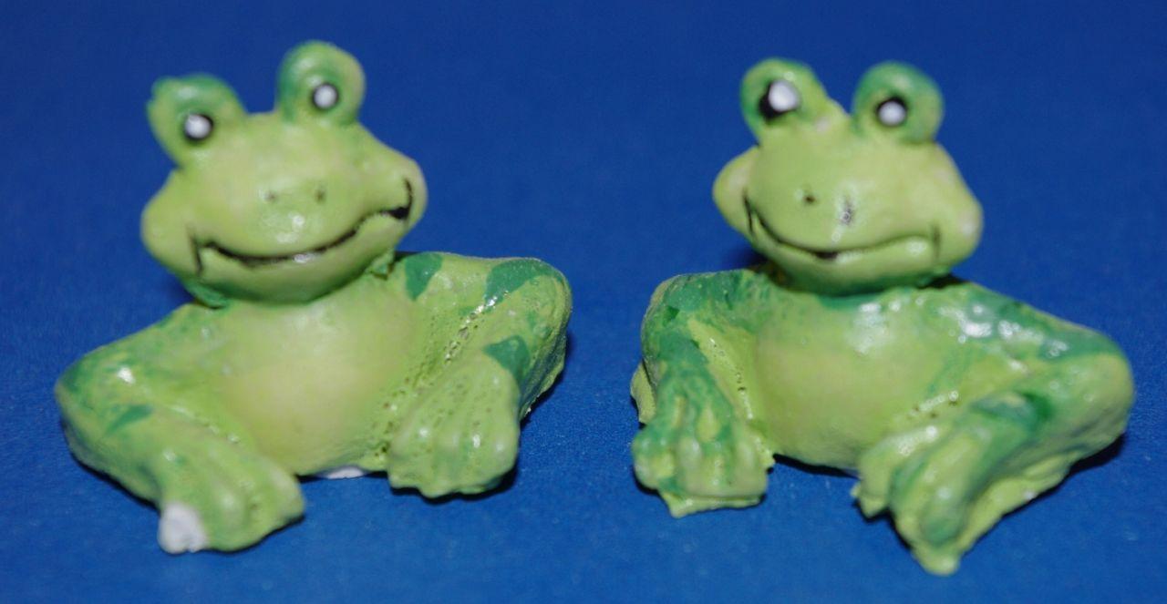 Giessform Silikonform 2 Frösche Frosch