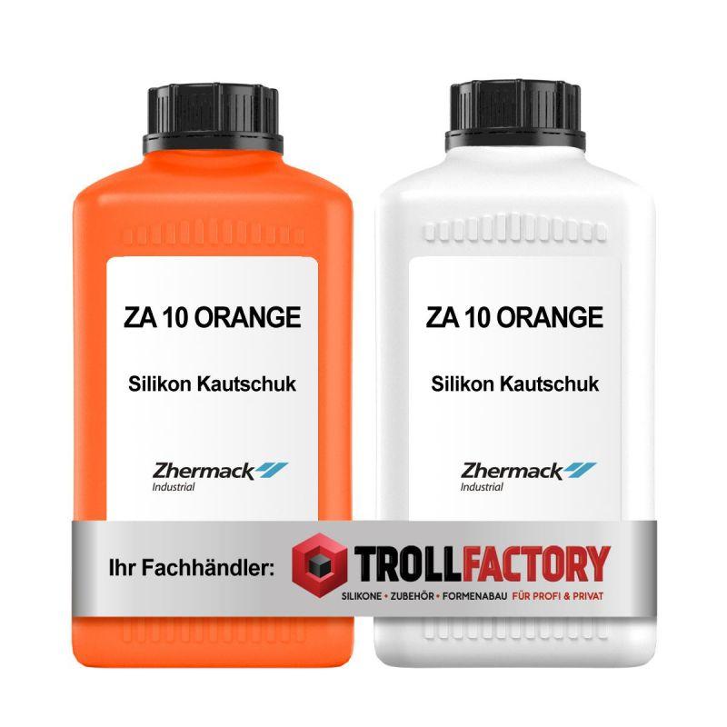 Zhermack Silikon Kautschuk ZA 10 orange Shore 13