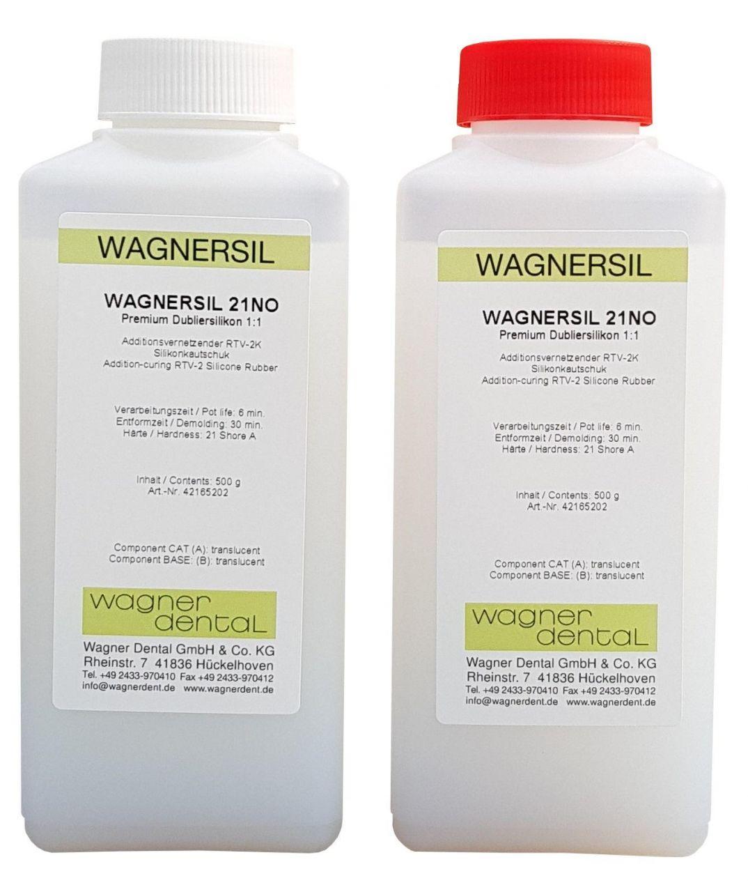 Wagnersil Premium 21 NO transluzent Shore 21 EFZ 30 min 1:1