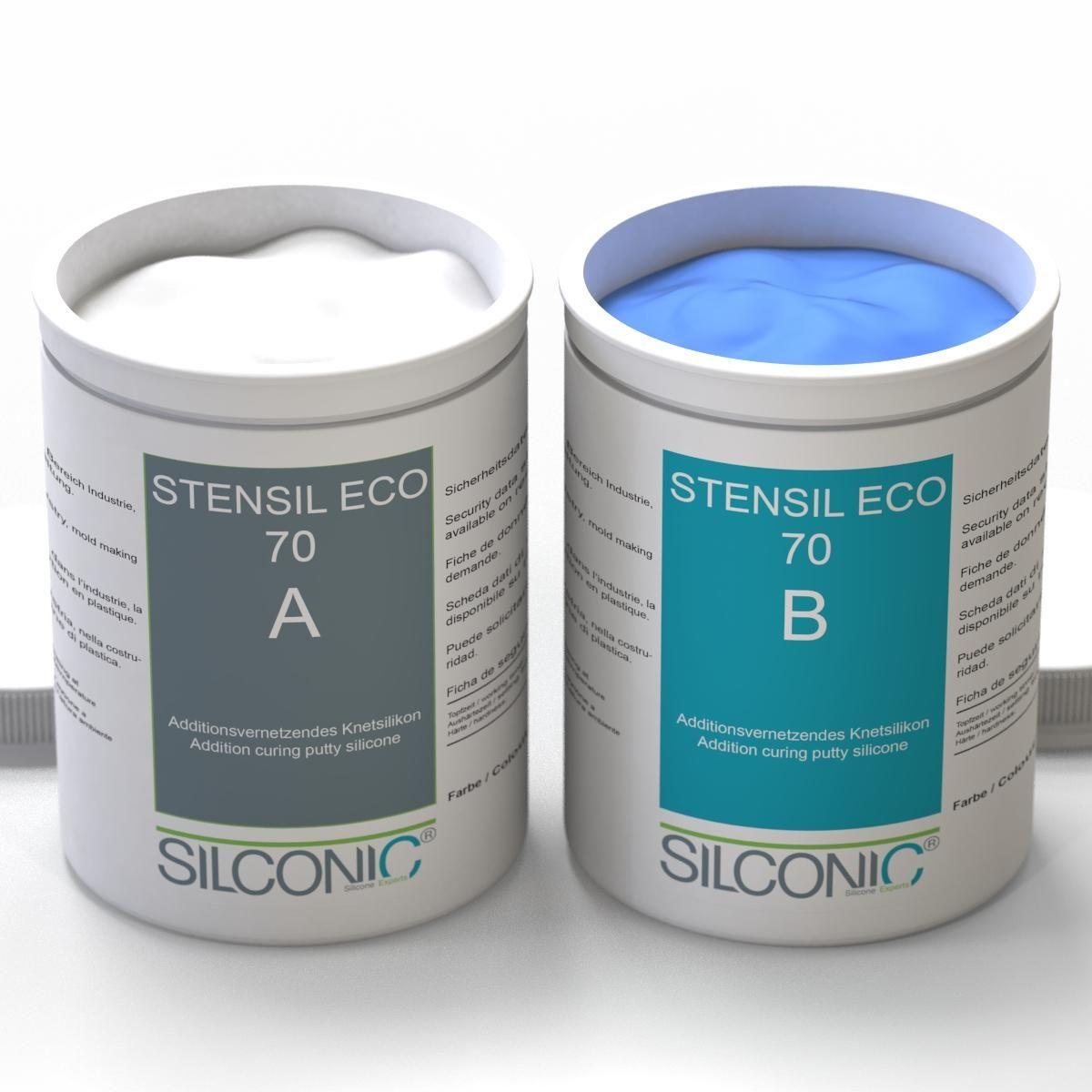 STENSIL ECO 70 Blau SET