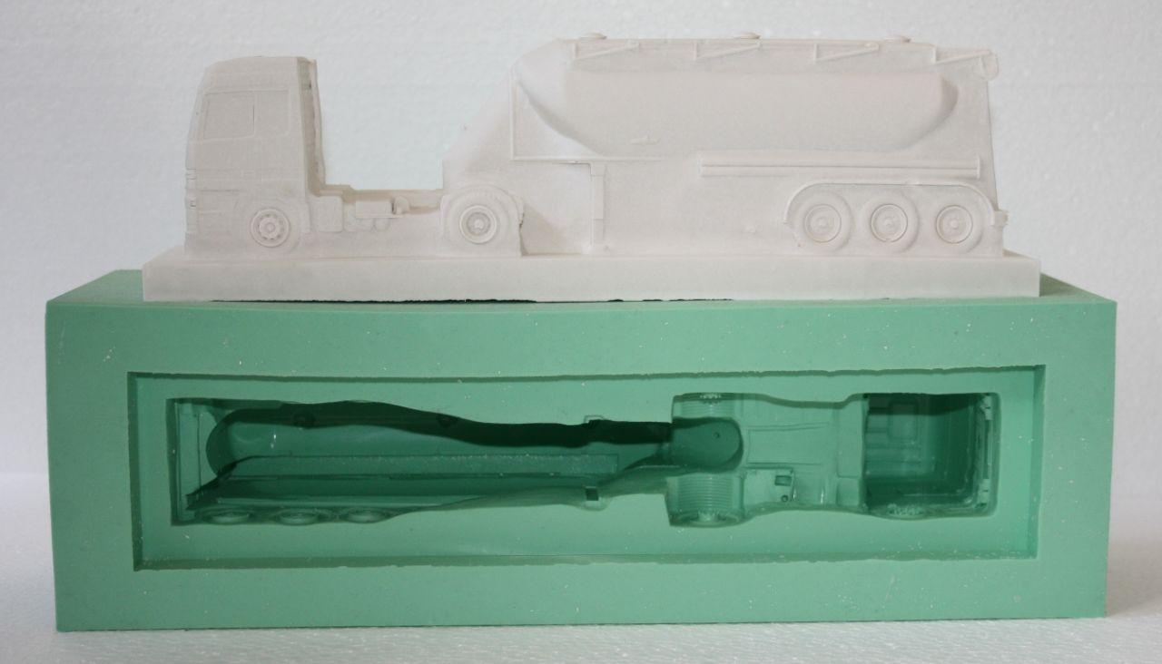 Giessform Silikonform LKW Silozug Tankzug Lastwagen