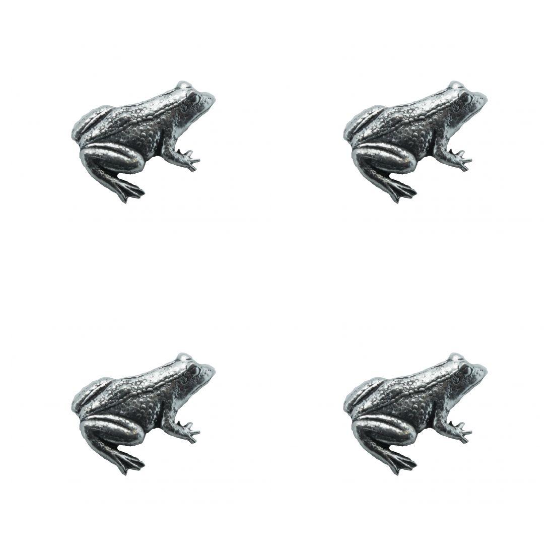 4x Pin Anstecker Badge Frosch, 21,x2,8cm