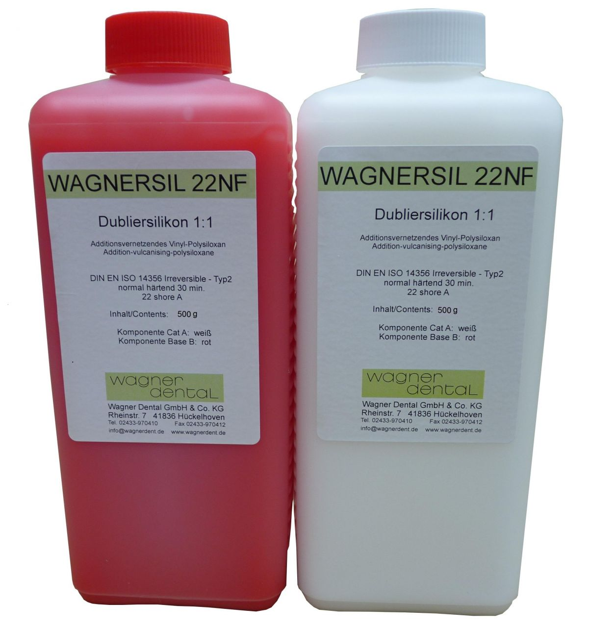 Wagnersil Premium 22 NF rosa Shore 22 EFZ 30 min 1:1