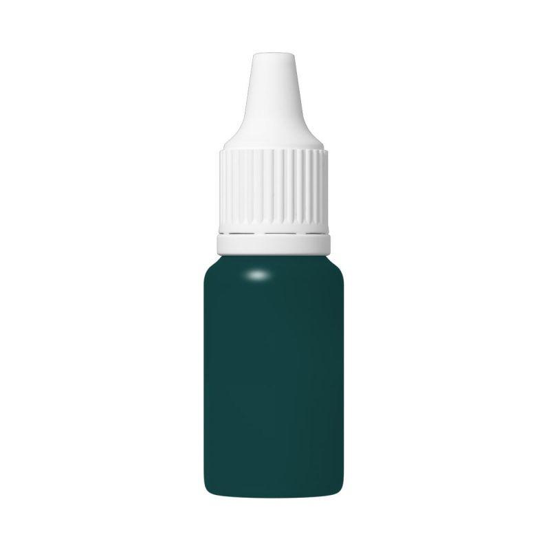 TFC Silikonfarbe Farbpaste Silikon Kautschuk RAL6004 blau-grün blue green