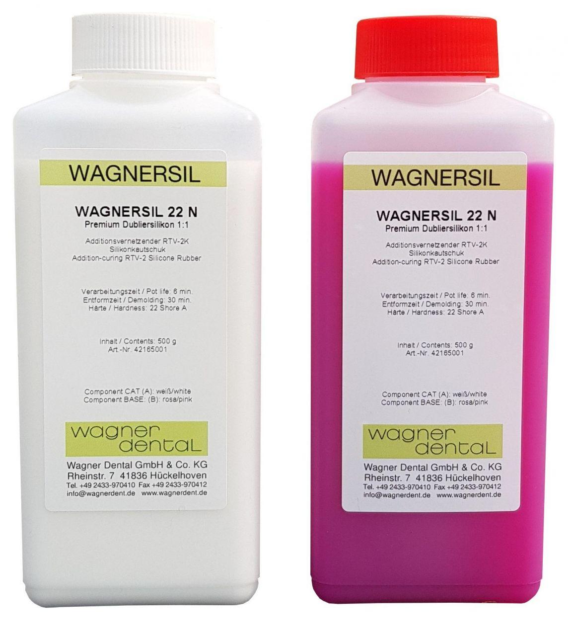 Wagnersil Premium 22 N rosa Shore 22 EFZ 30 min 1:1