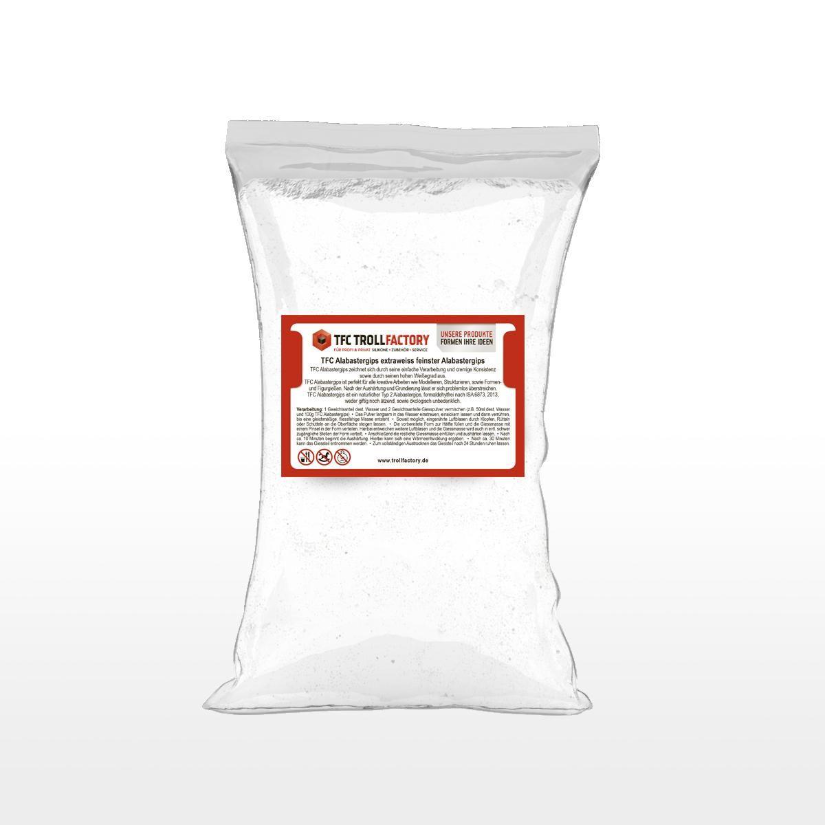 TFC Alabastergips extraweiss feinster Alabastergips 2:1 7,5kg