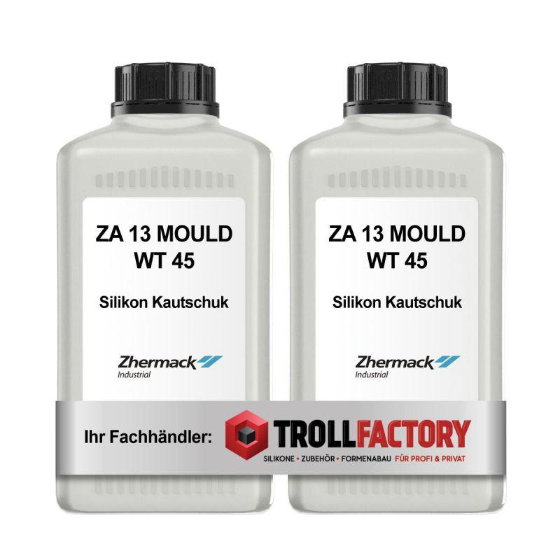 Zhermack Silikon Kautschuk ZA 13 Mould WT45 Shore Härte 13