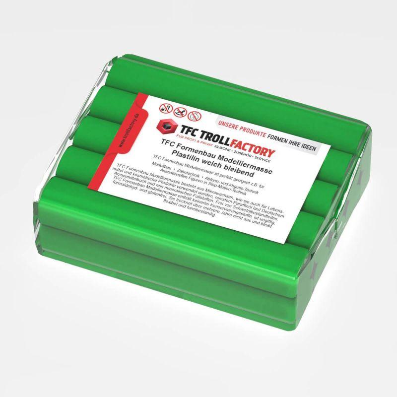 TFC Formenbau Modelliermasse grün Plastilin weich bleibend schwefelfrei