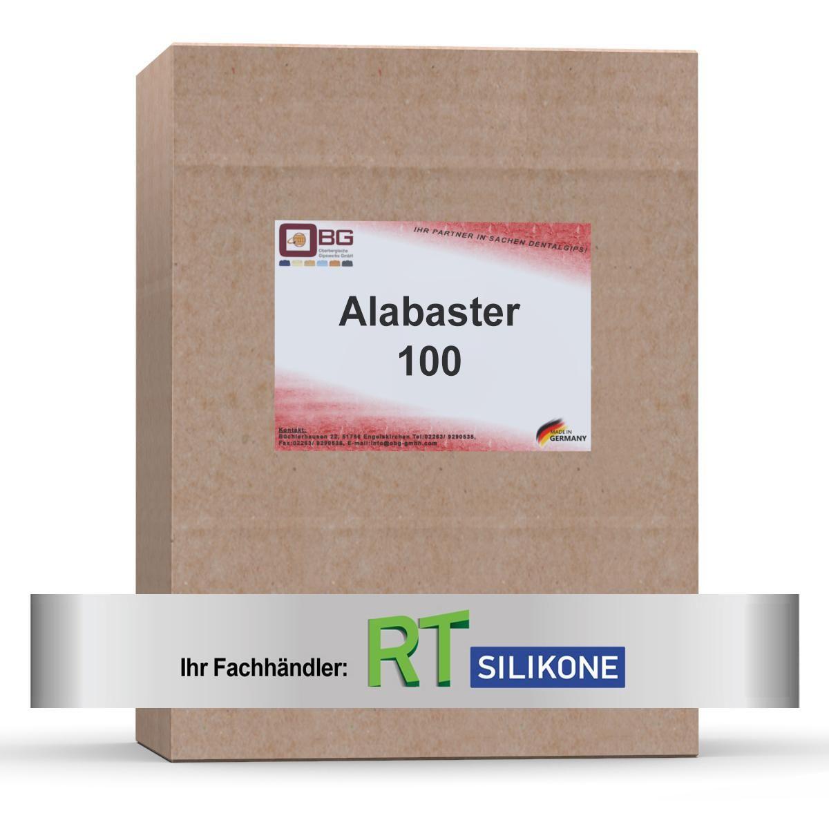 Alabaster 100 Alabastergips naturweiß