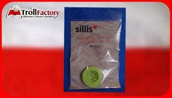 SILLI Silikonform Lebensmittel Alte Rose, ca. 2,5x 2,6cm
