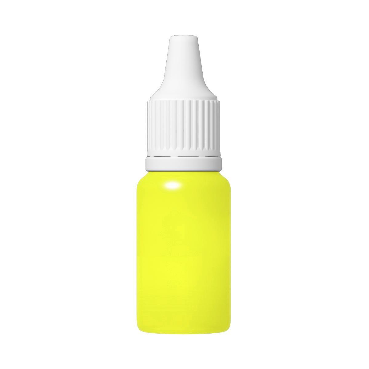 TFC Silikonfarbe Farbpaste Silikon Kautschuk RAL1026 neon leuchtgelb