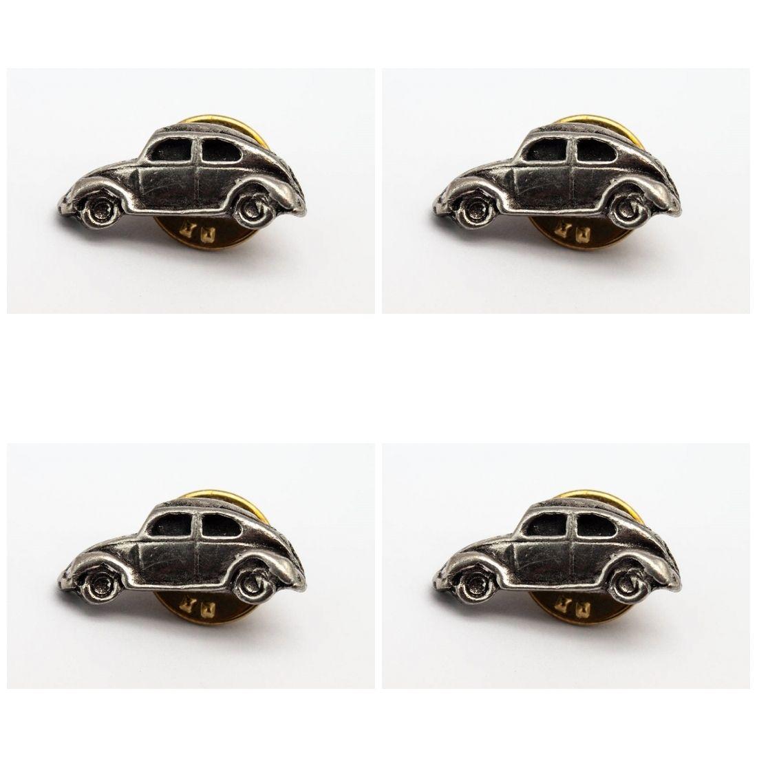 4x Pin Anstecker Badge Beetle Dach geschlossen