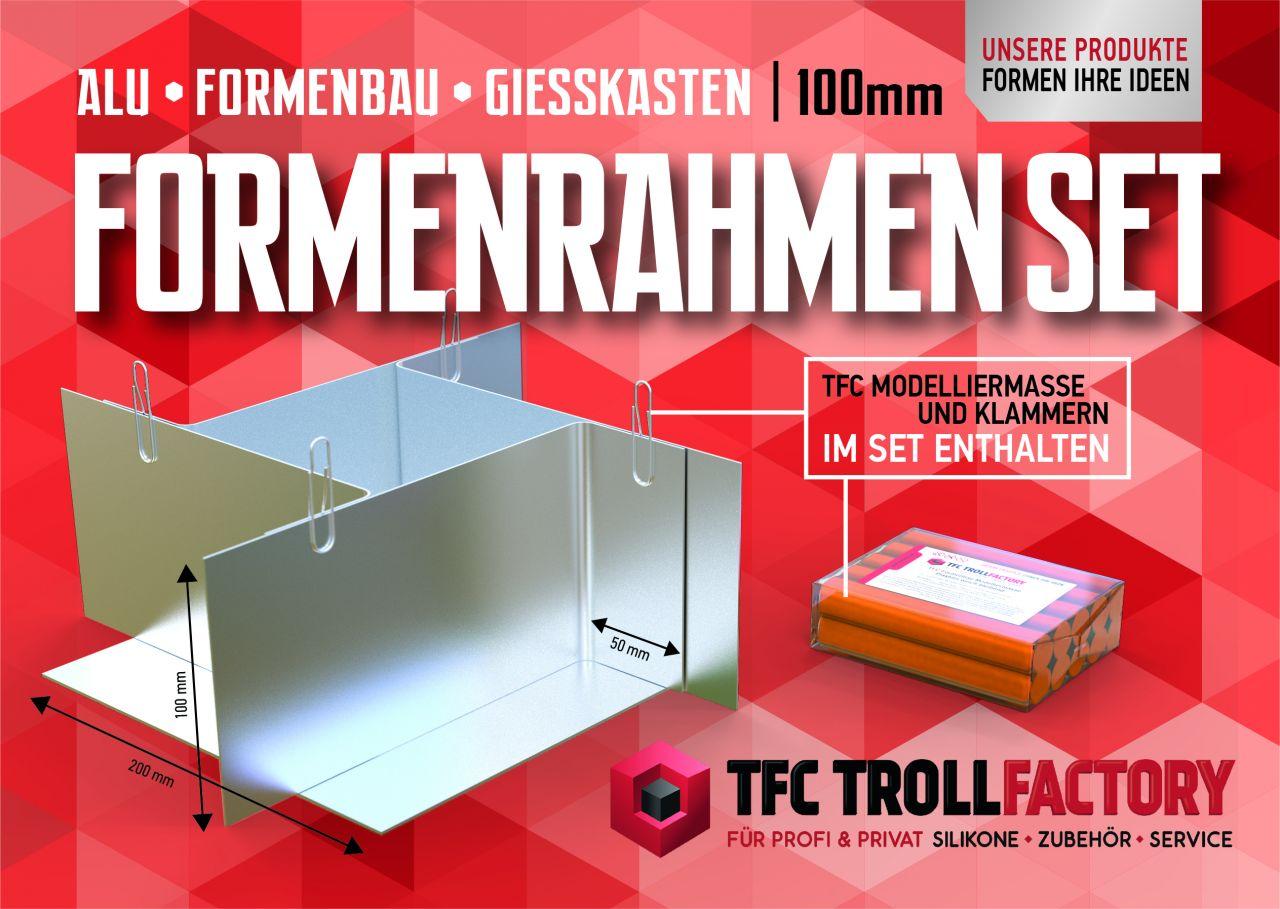 TFZ Formenrahmen ALU Formbaurahmen Giesskasten Rahmen Formenbau 100mm