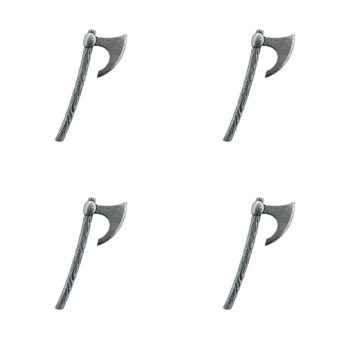 4x Pin Anstecker Badge Kampfaxt