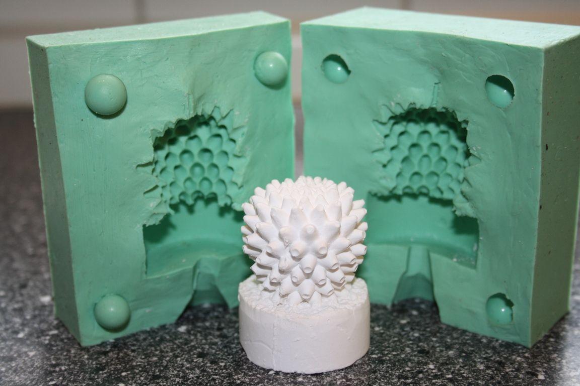 Giessform Silikonform Kaktus Motiv 3