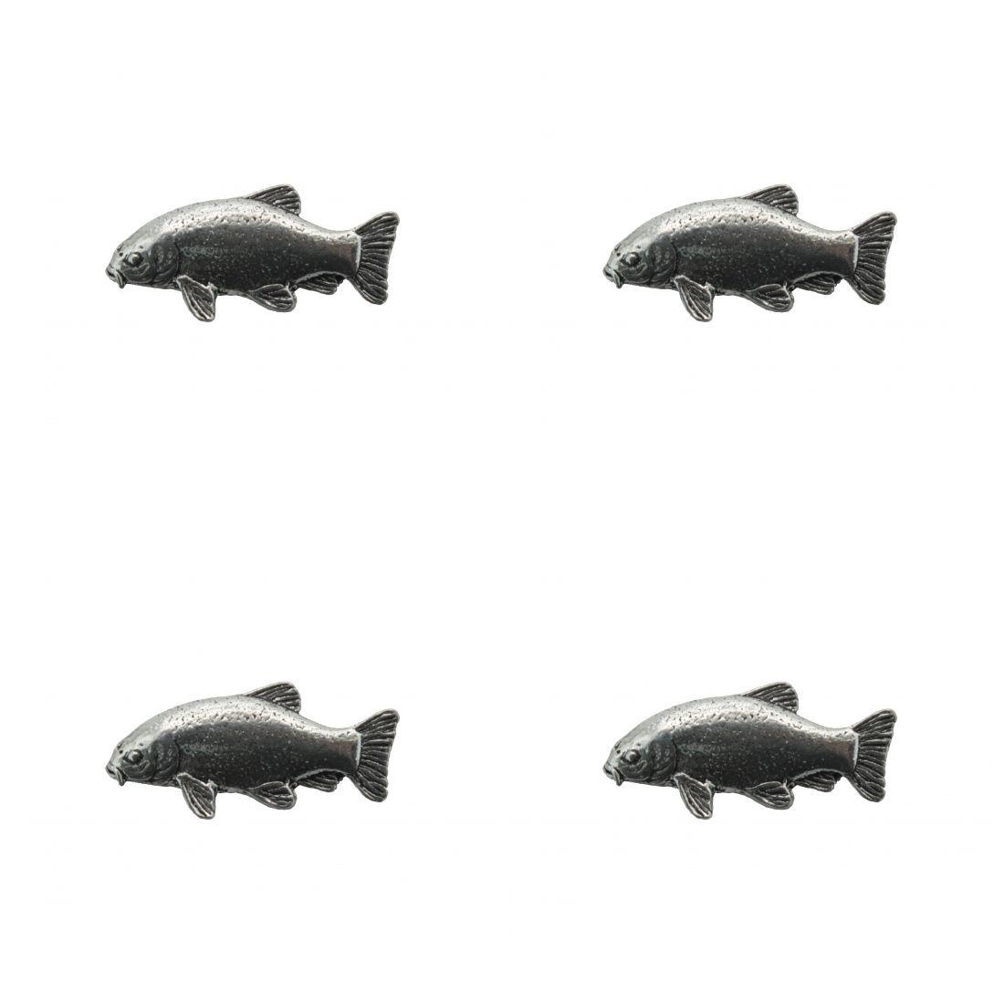 4 x Pin Anstecker Badge Schleie