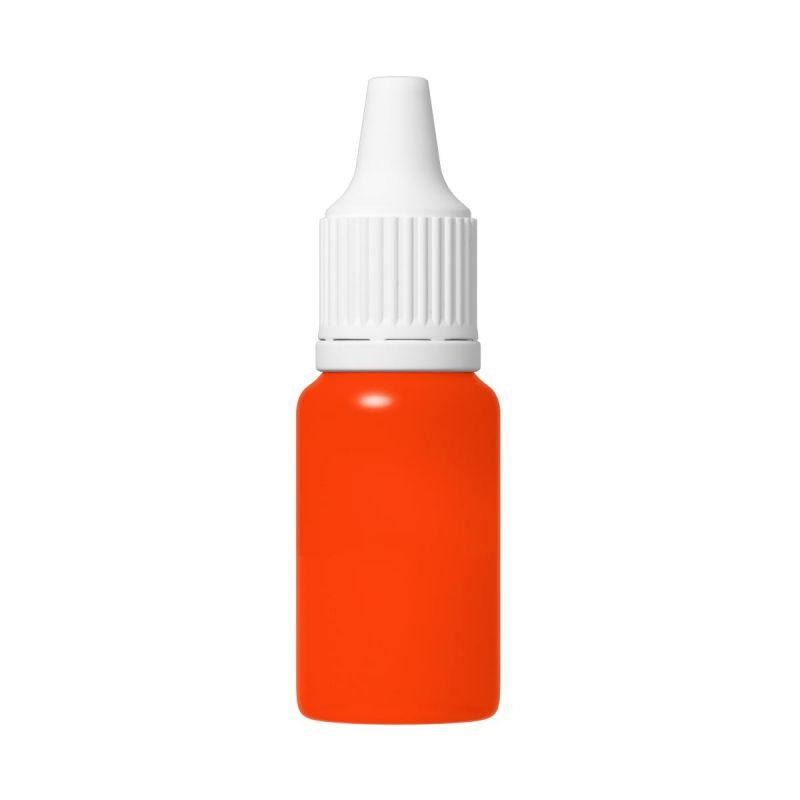 TFC Silikonfarbe Farbpaste Silikon Kautschuk RAL2005 neon leuchtorange luminous orange