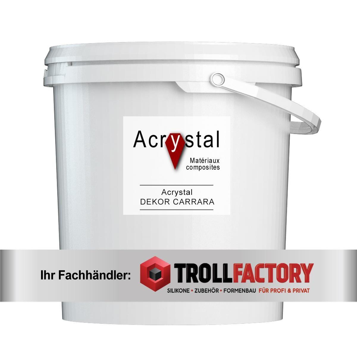 Acrystal DEKOR CARRARA Pulver 5kg (1:5)