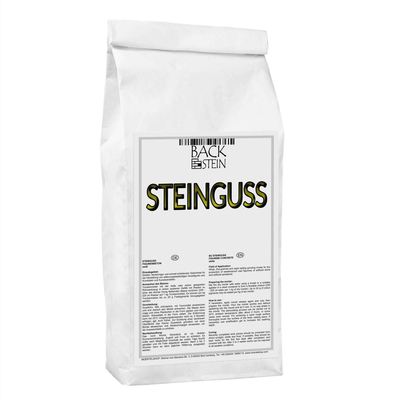 Steinguss, weiss