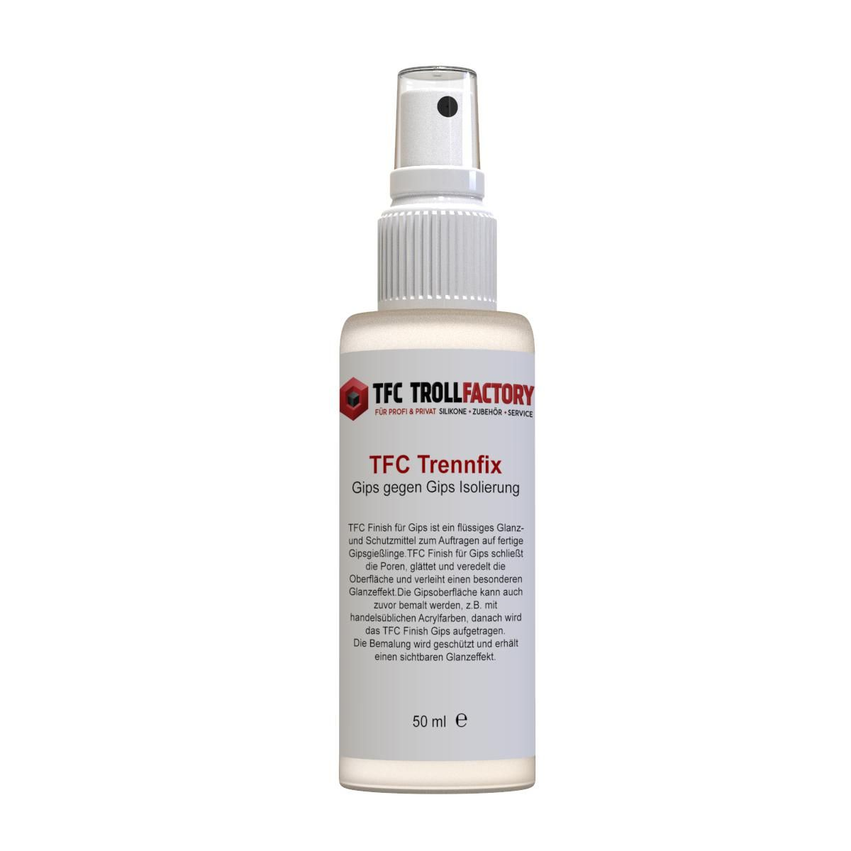 TFC Trennfix Gips Trennmittel Gips gegen Gips Isolierung 50ml