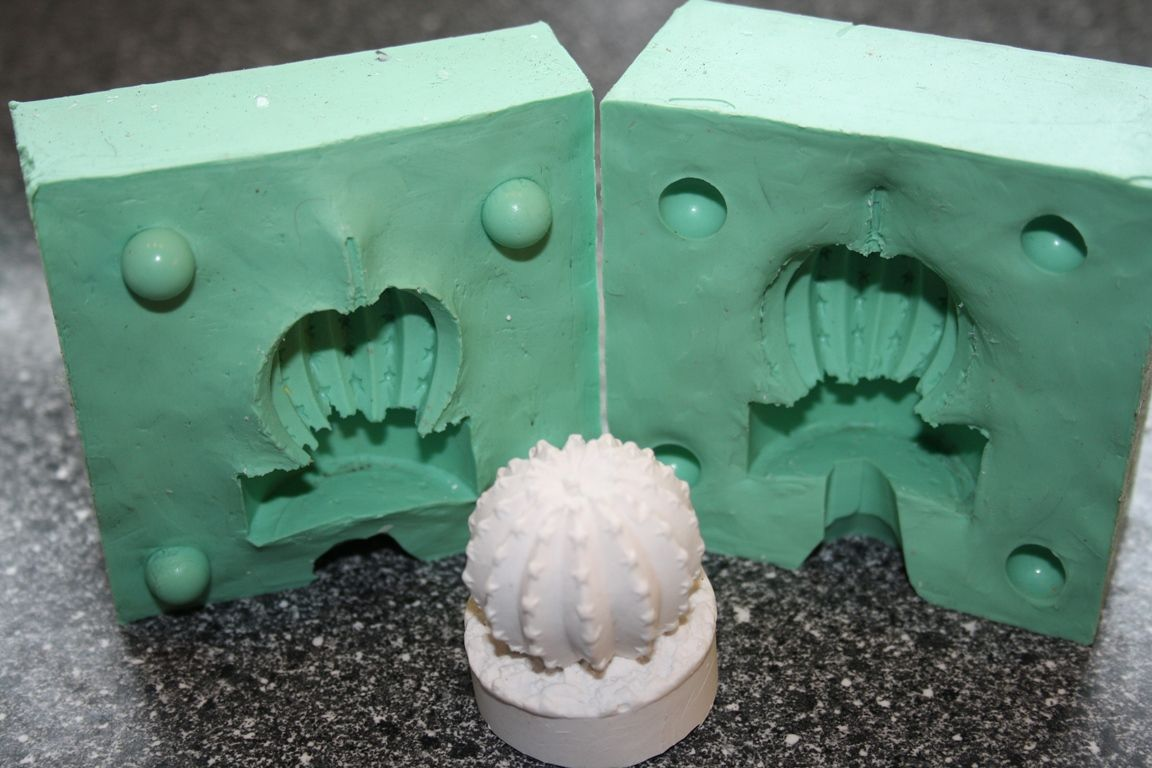 Kerzenform Giessform Teelicht Kaktus Motiv 2