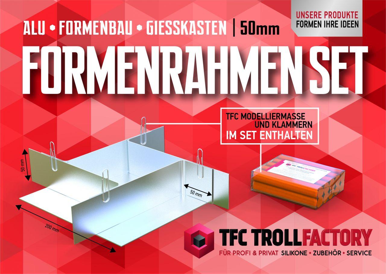 TFZ Formenrahmen ALU Formbaurahmen Giesskasten Rahmen Formenbau 50mm