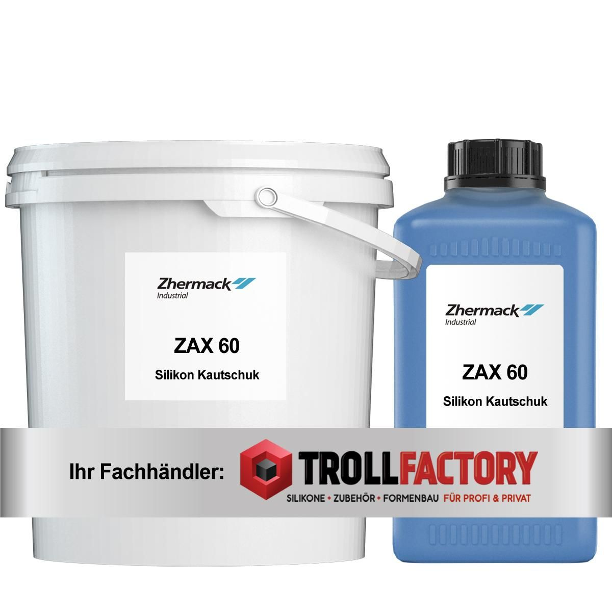 Zhermack Silikon ZAX 60 5,5Kg Base plus Catalyst
