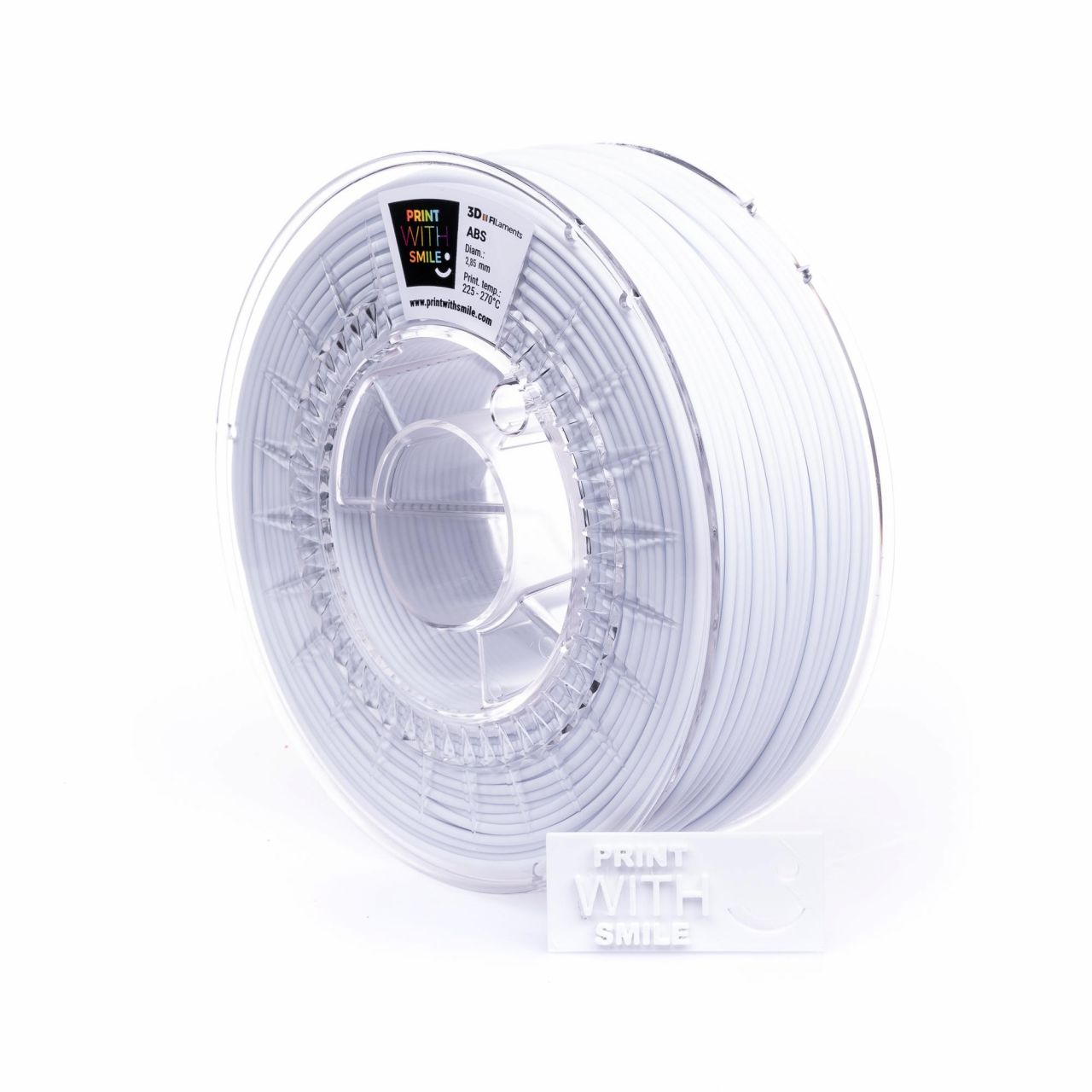 PWS 3D Drucker 3D Stift Pen ABS Filament 2,85 mm, Gewicht 1 kg - Farbe: Satine White